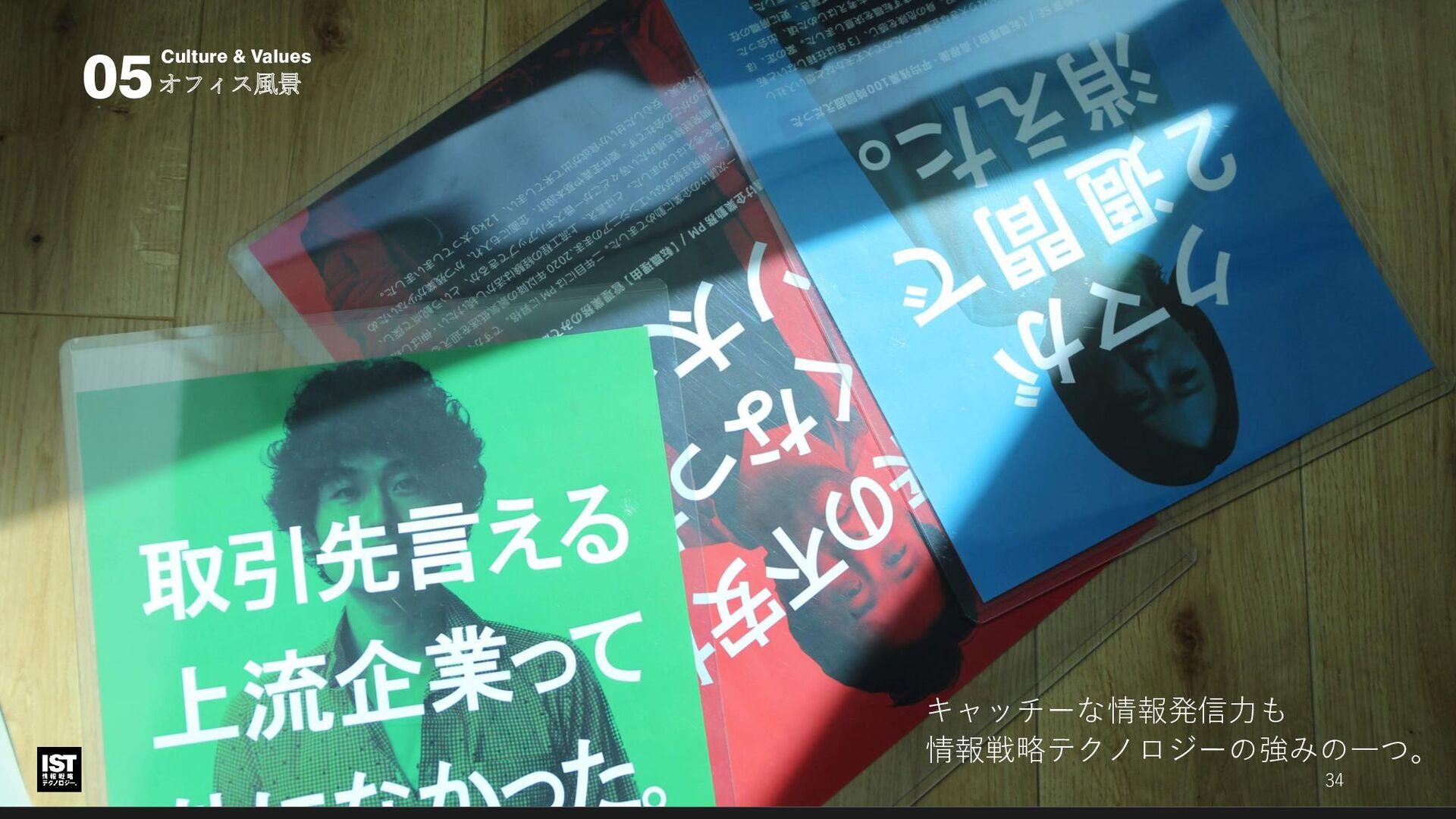 オフィス風景 社風・価値観 05 エントランス。 この階はほぼ全面・会議室スペースです。 34