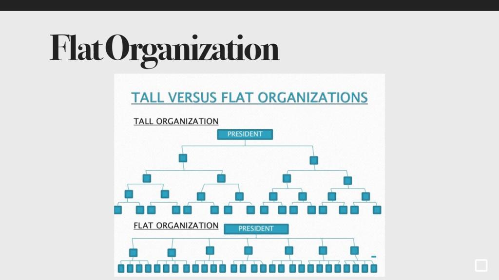 Flat Organization