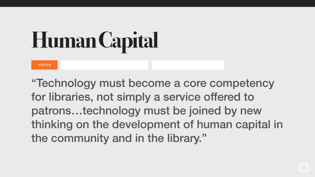 "INNOVATI ON LIBR ARI ES GRIFFEY Human Capital ""..."