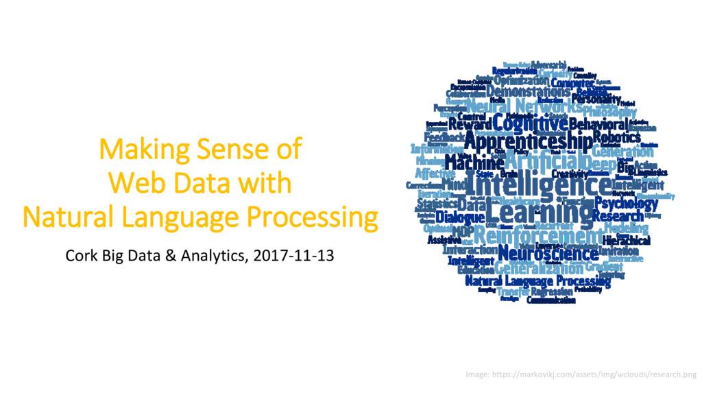 Making Sense of Web Data with Natural Language ...