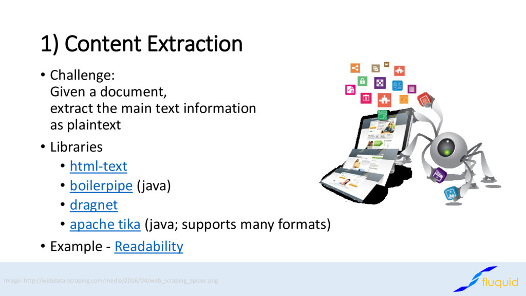 1) Content Extraction • Challenge: Given a docu...