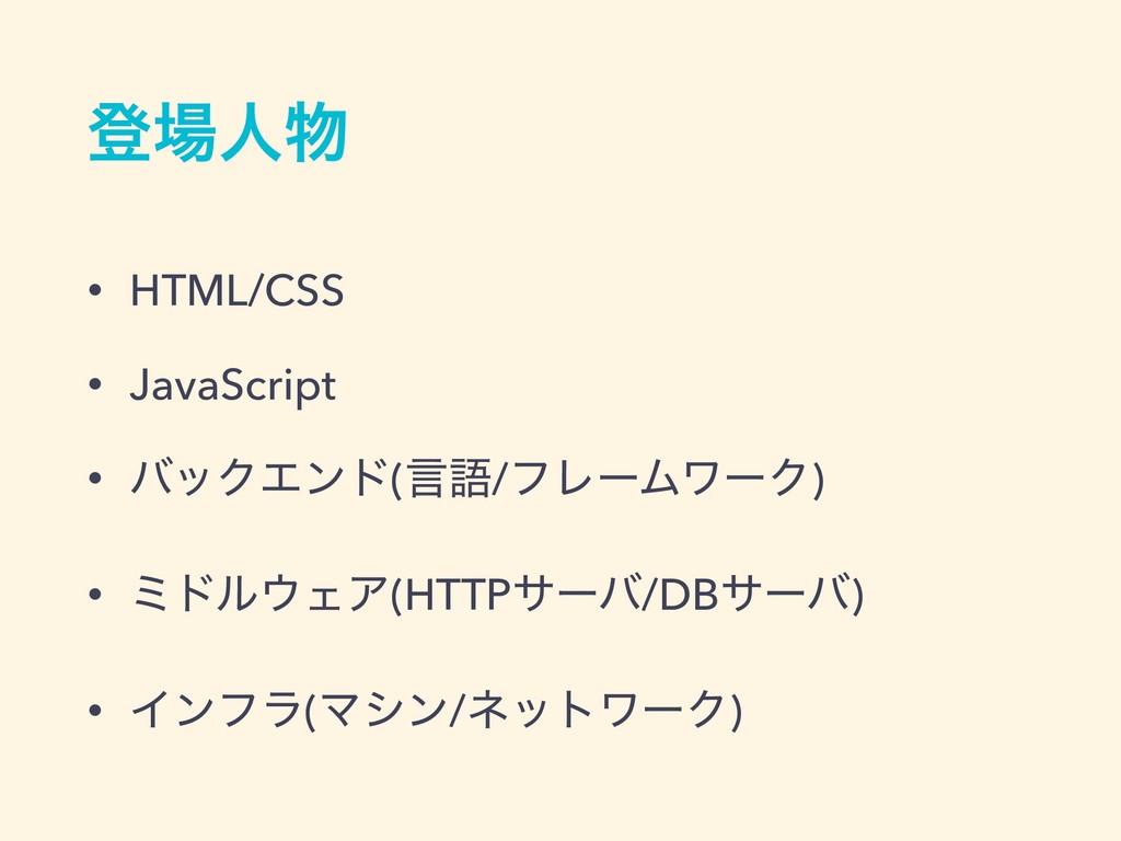 ొਓ • HTML/CSS • JavaScript • όοΫΤϯυ(ݴޠ/ϑϨʔϜϫʔ...