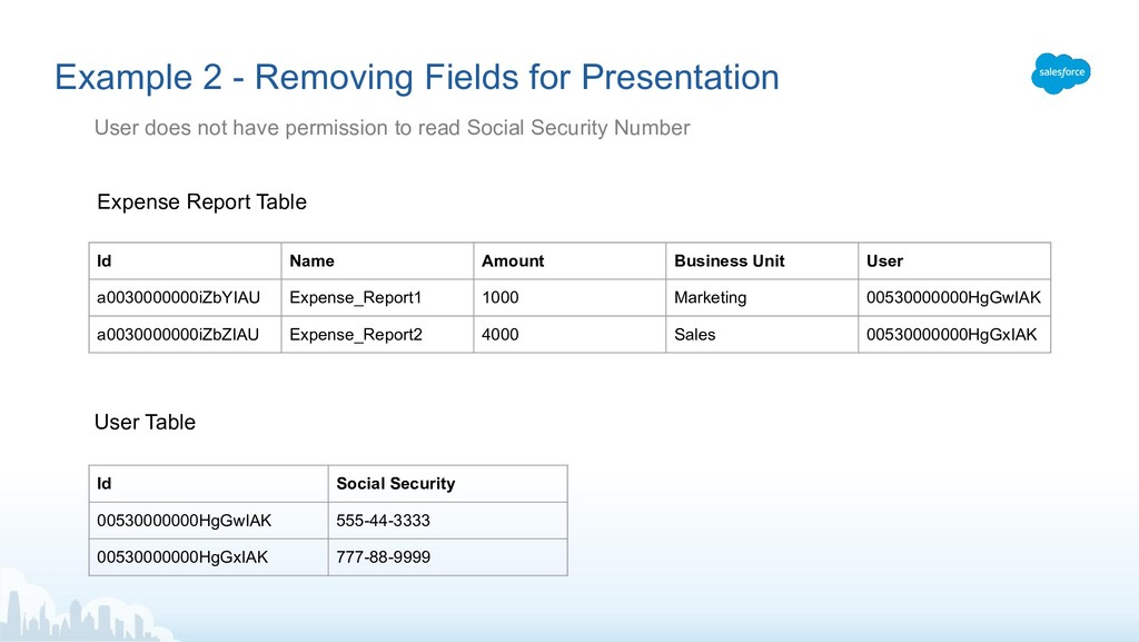 Example 2 - Removing Fields for Presentation Us...