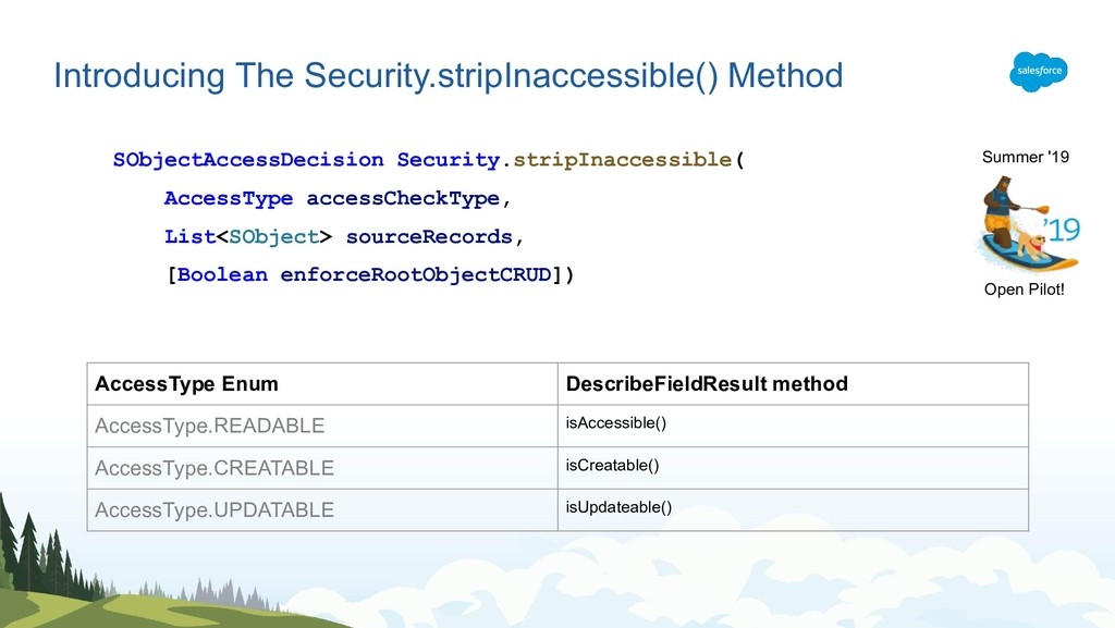 Introducing The Security.stripInaccessible() Me...