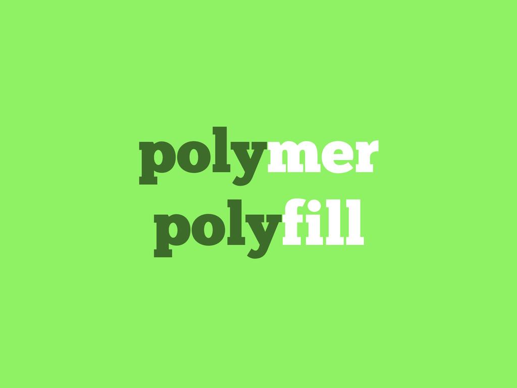 polymer polyfill