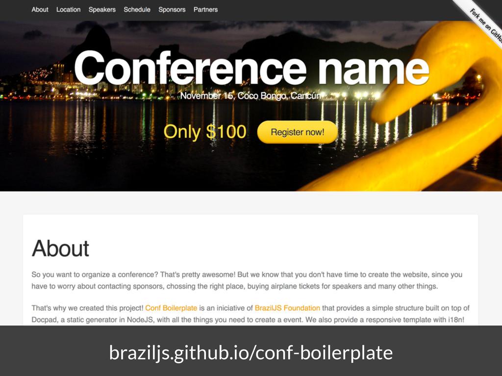 braziljs.github.io/conf-boilerplate