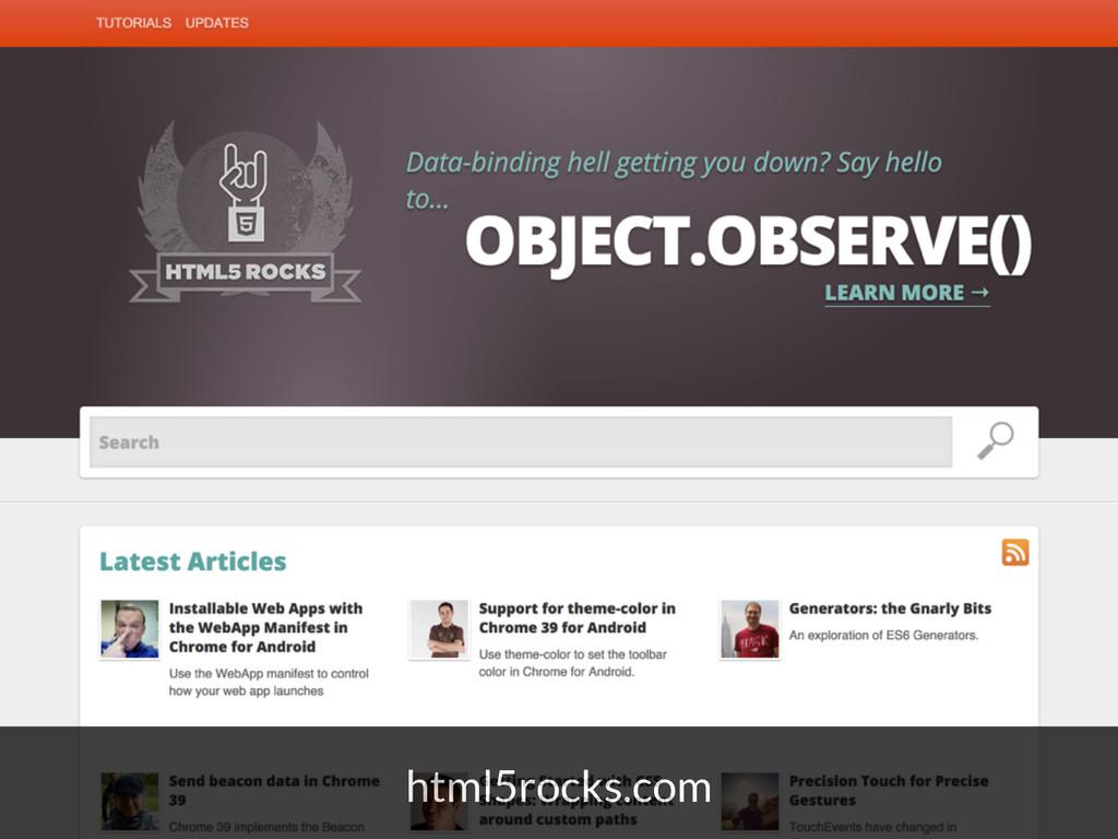 html5rocks.com