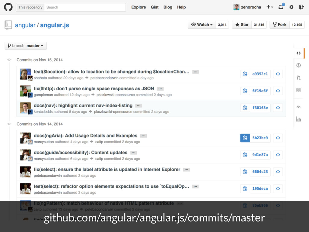 github.com/angular/angular.js/commits/master