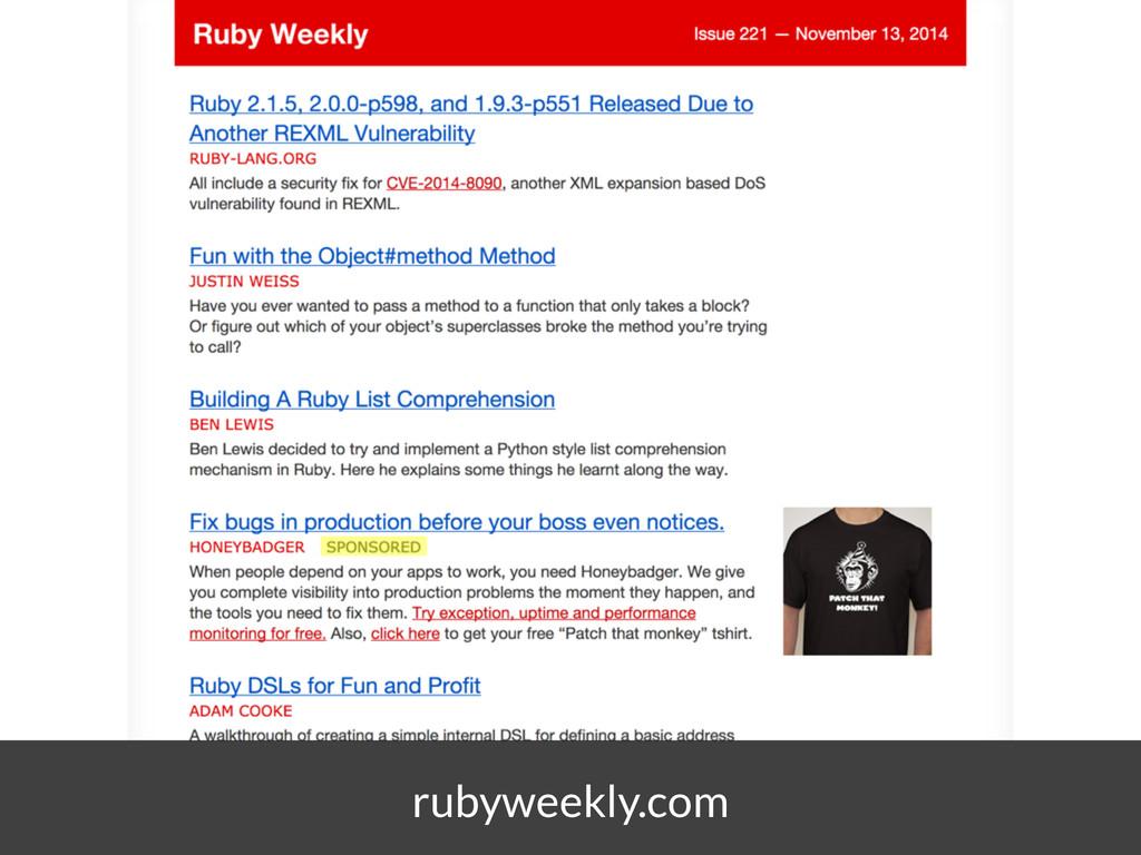 rubyweekly.com