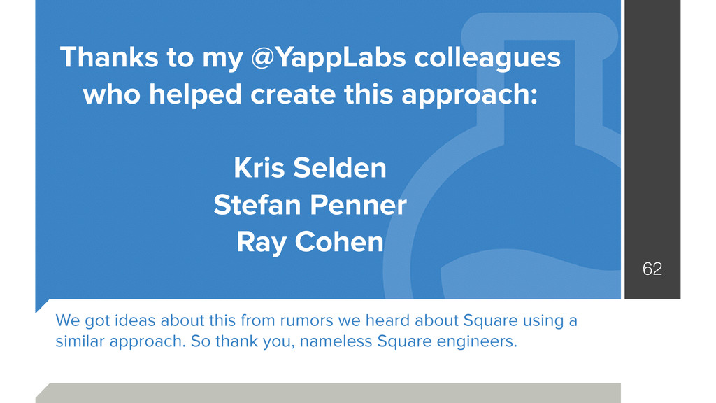 Thanks to my @YappLabs colleagues who helped cr...