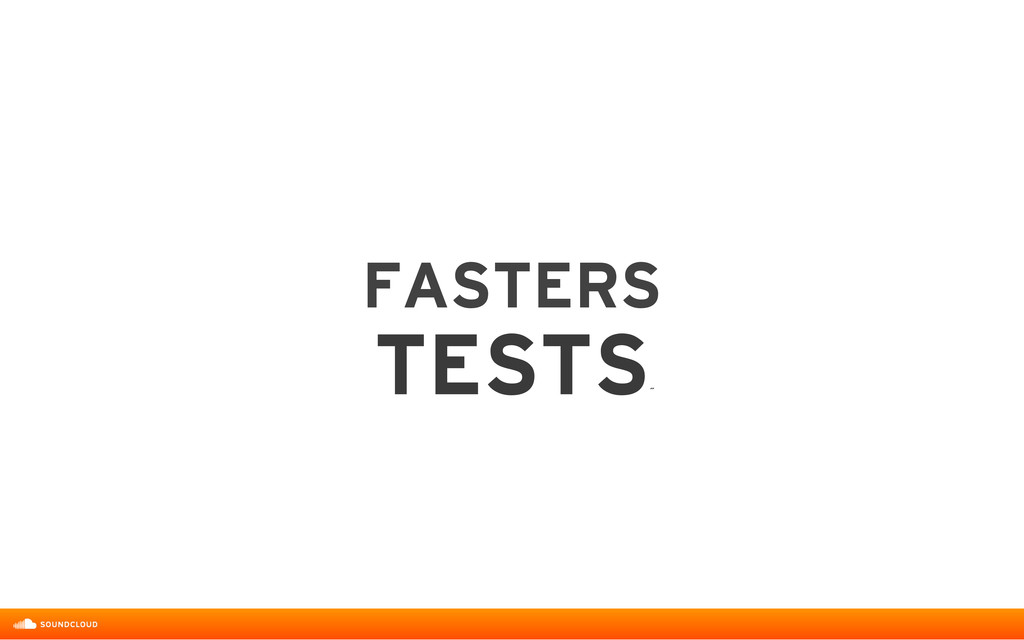 FASTERS  TESTS ˝