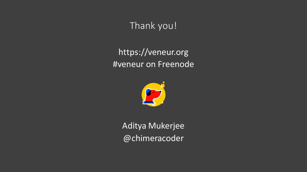 Thank you! https://veneur.org #veneur on Freeno...