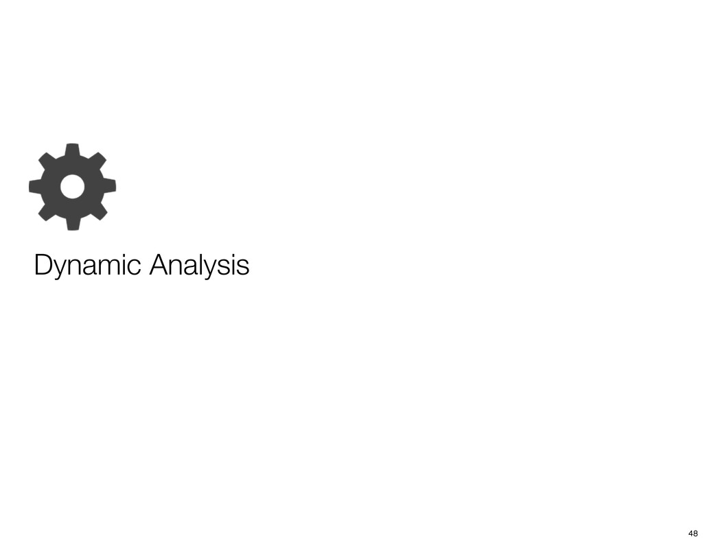 Dynamic Analysis 48