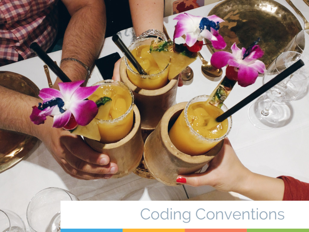 36 Coding Conventions