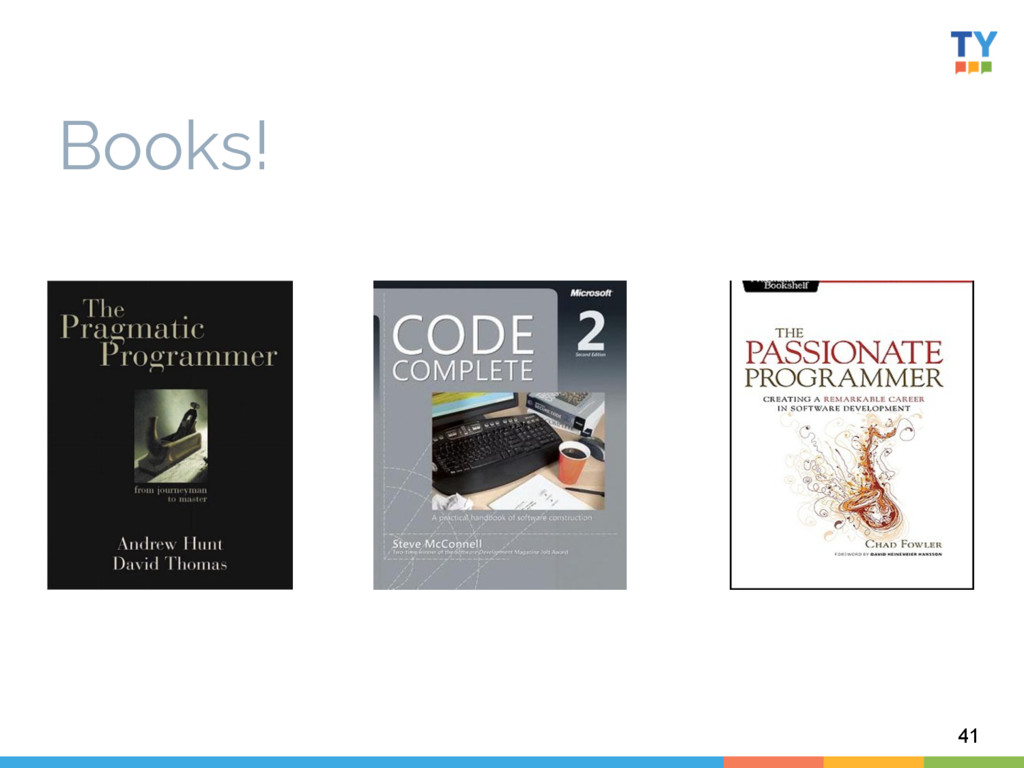 Books! 41