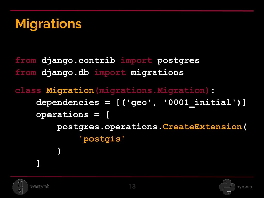 Migrations 13 from django.contrib import postgr...