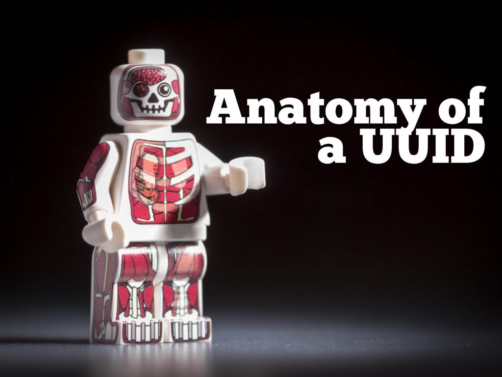 Anatomy of a UUID
