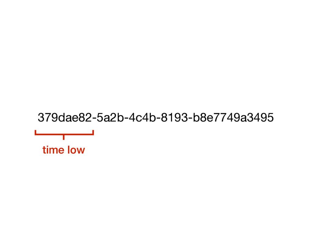 379dae82-5a2b-4c4b-8193-b8e7749a3495 time low
