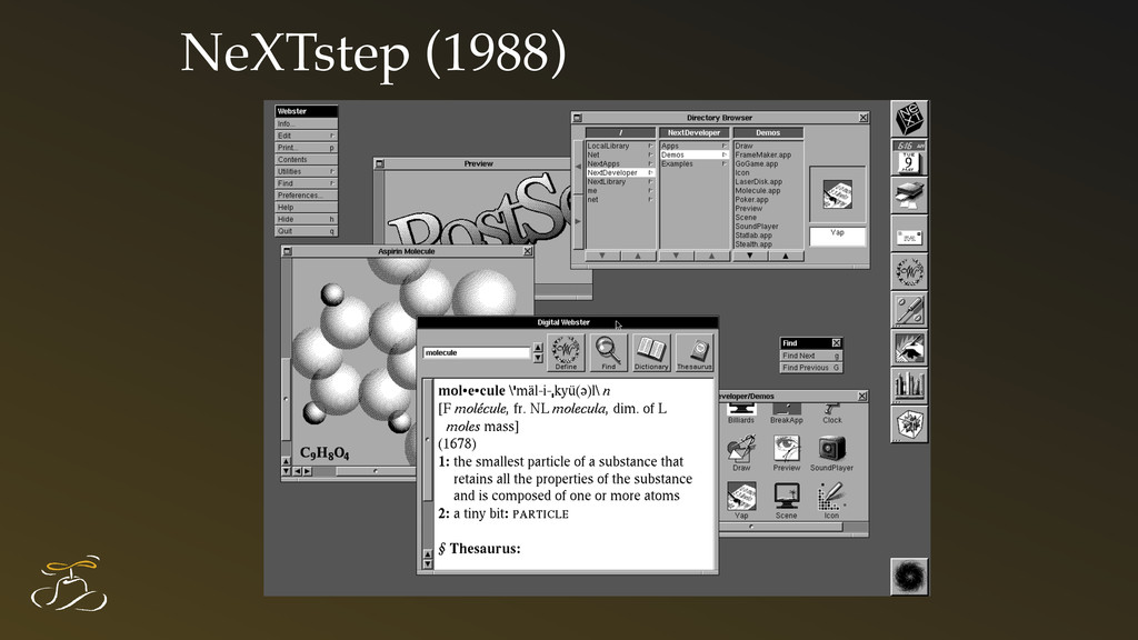 NeXTstep (1988)