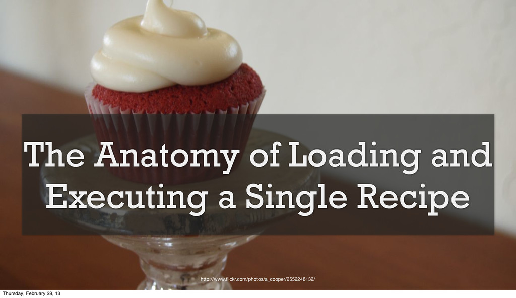 The Anatomy of Loading and Executing a Single R...