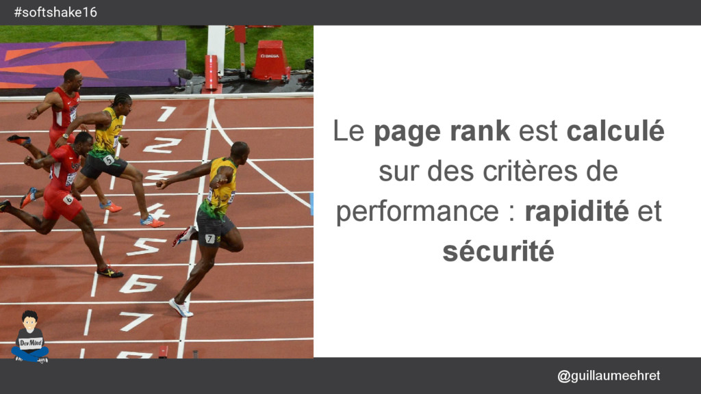 @guillaumeehret #softshake16 Le page rank est c...