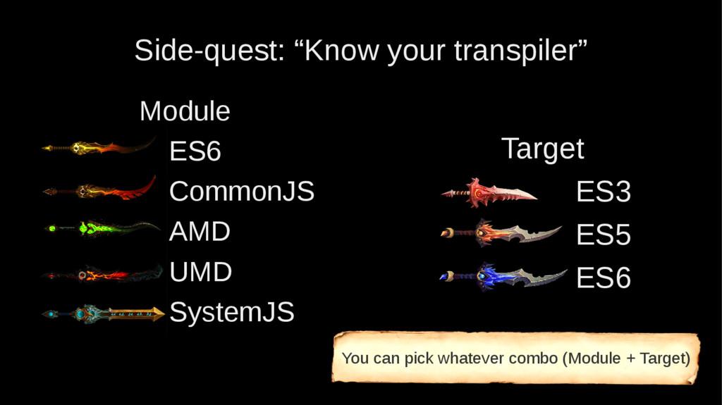 """Side-quest: """"Know your transpiler"""" Module ES6 C..."""