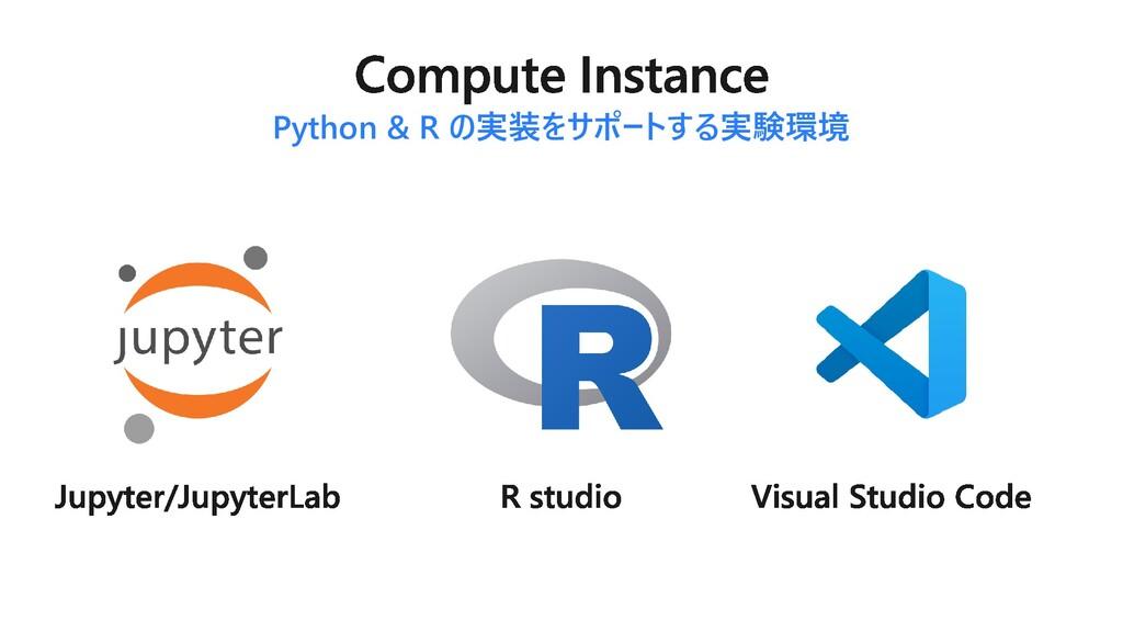 Python & R の実装をサポートする実験環境
