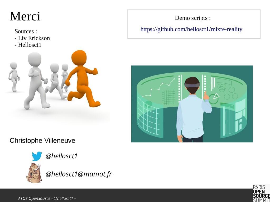 ATOS OpenSource - @hellosct1 – Christophe Ville...