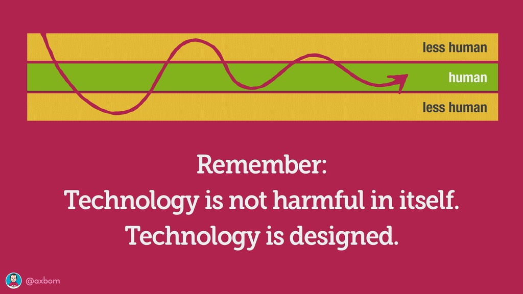 @axbom Remember: