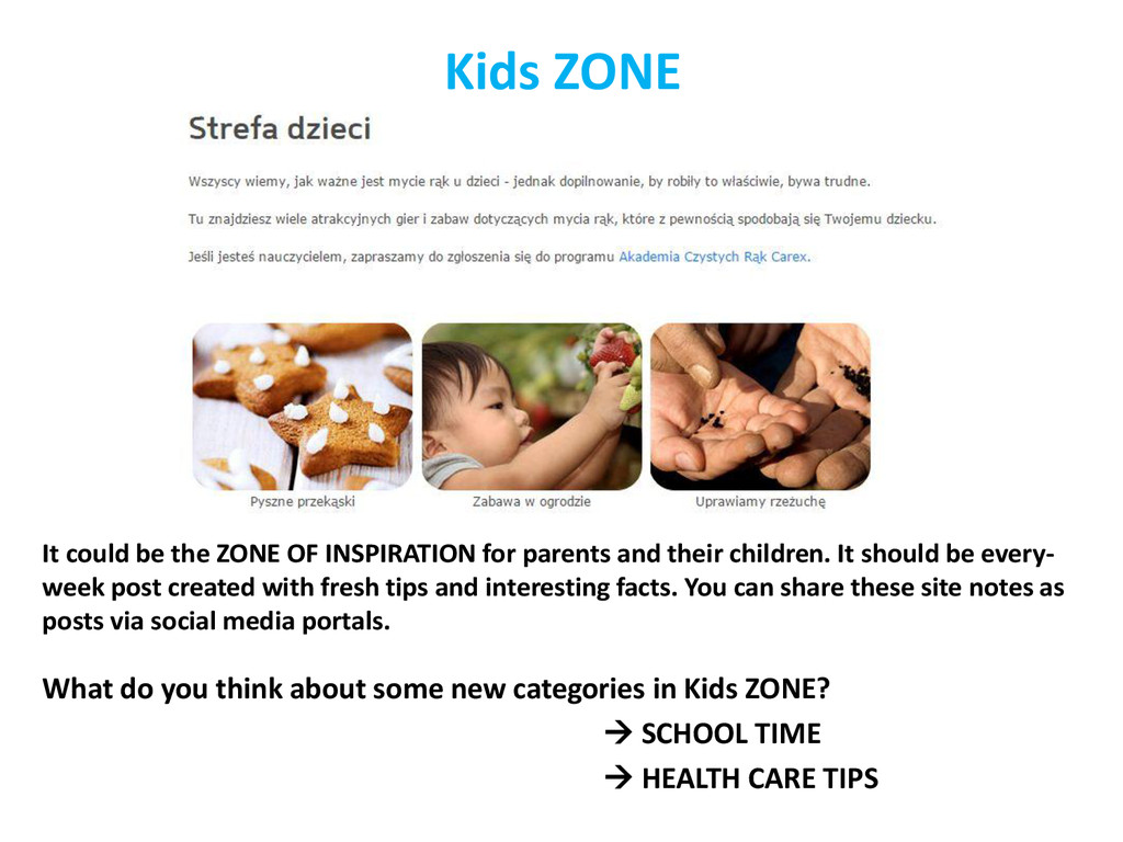 Kids ZONE It could be the ZONE OF INSPIRATION f...