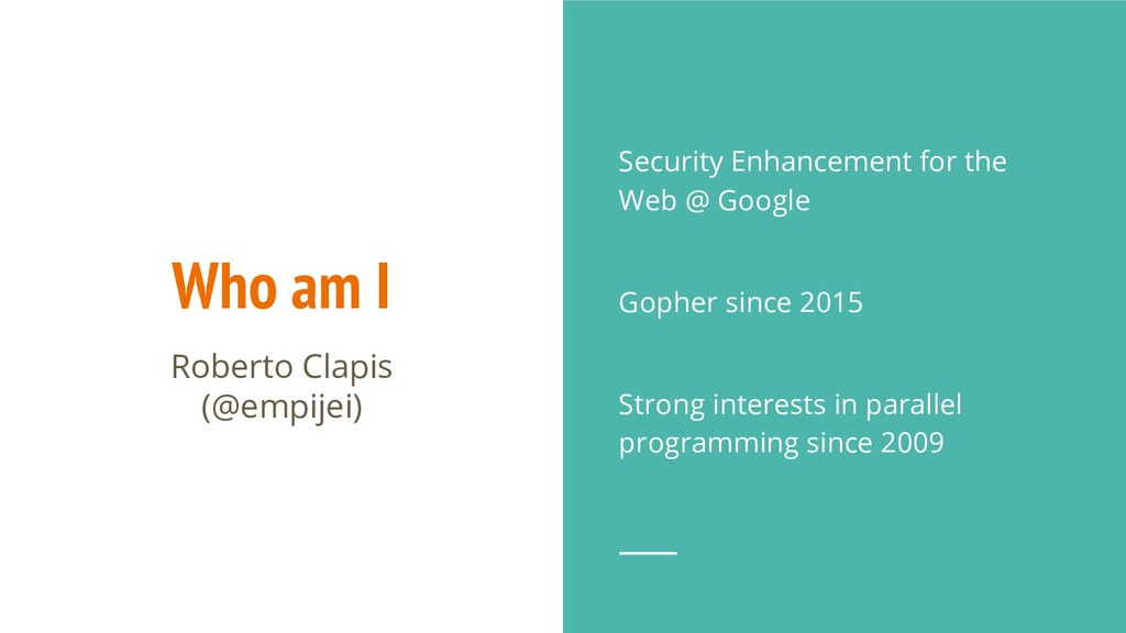 Who am I Security Enhancement for the Web @ Goo...