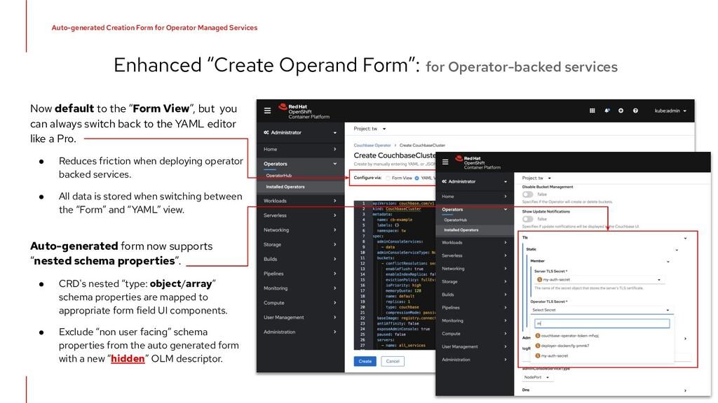"Enhanced ""Create Operand Form"": for Operator-ba..."