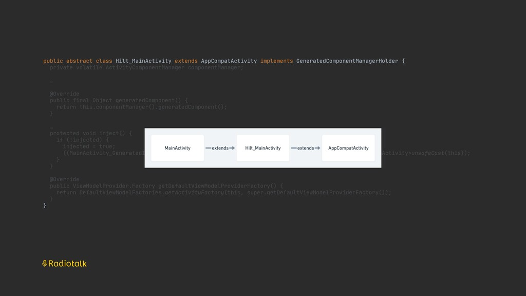 public abstract class Hilt_MainActivity extends...