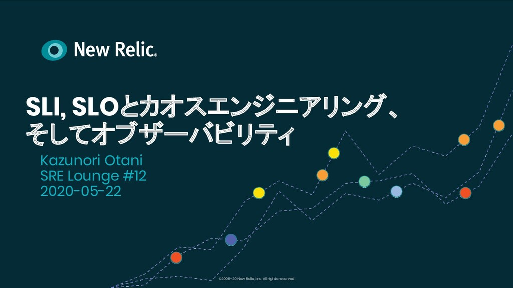 ©2008–20 New Relic, Inc. All rights reserved SL...