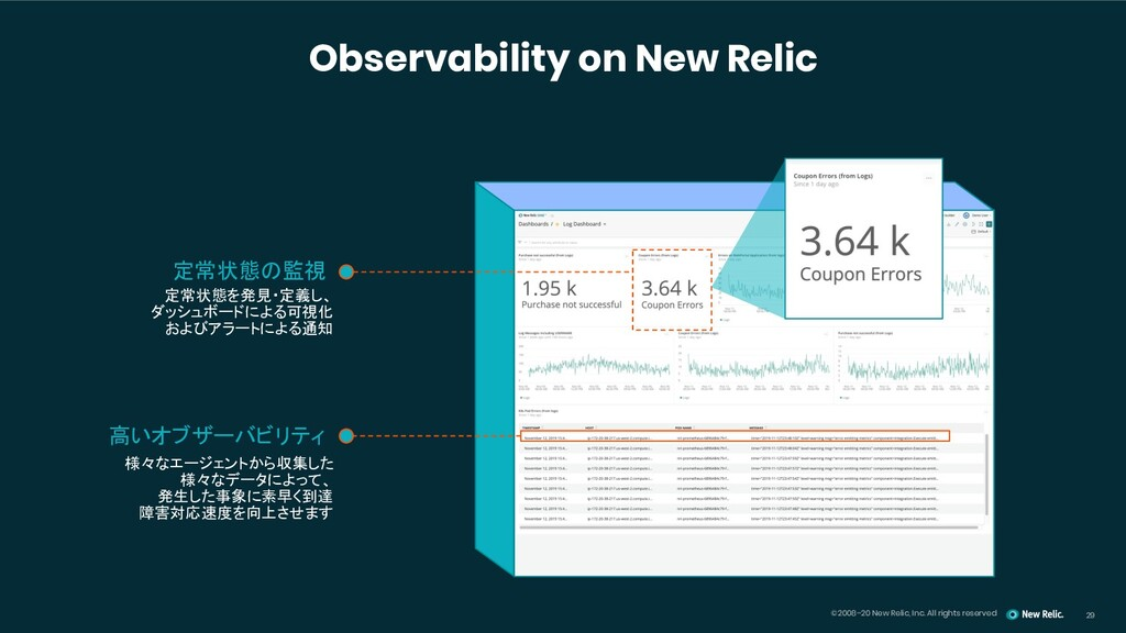 ©2008–20 New Relic, Inc. All rights reserved 29...