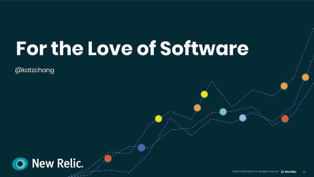 32 ©2008–19 New Relic, Inc. All rights reserved...
