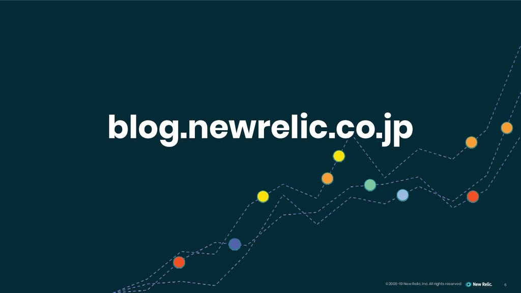 6 ©2008–19 New Relic, Inc. All rights reserved ...