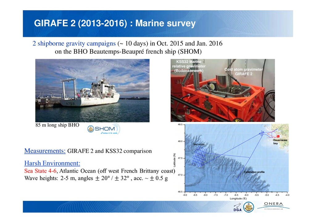 GIRAFE 2 (2013-2016) : Marine survey 2 shipborn...