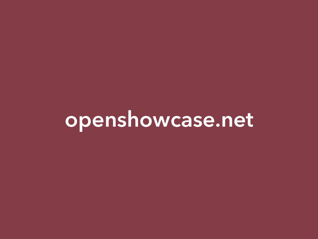 openshowcase.net
