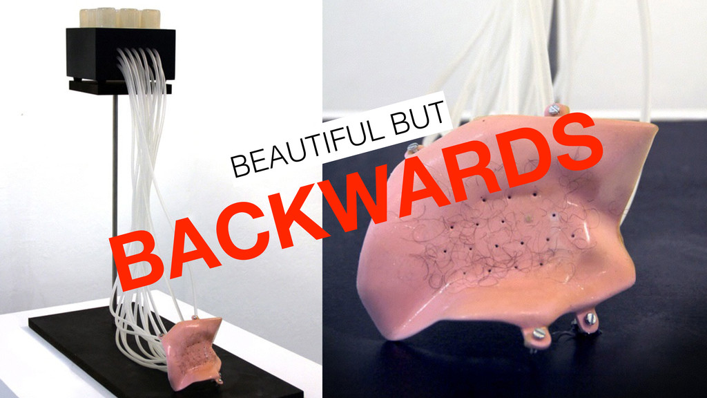 BACKWARDS BEAUTIFUL BUT