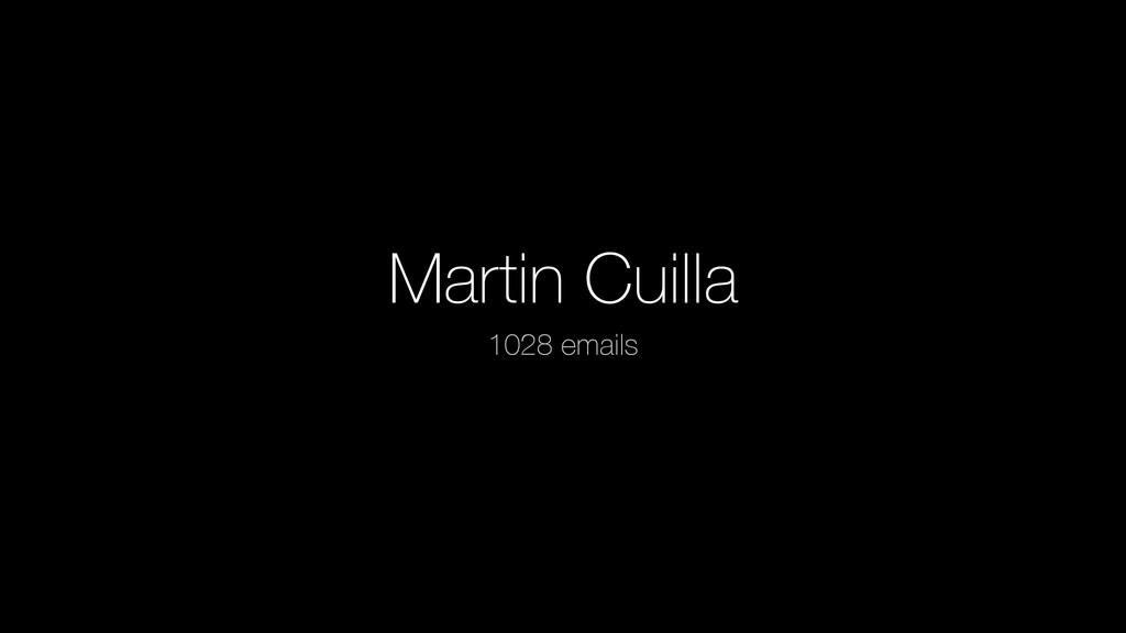Martin Cuilla 1028 emails