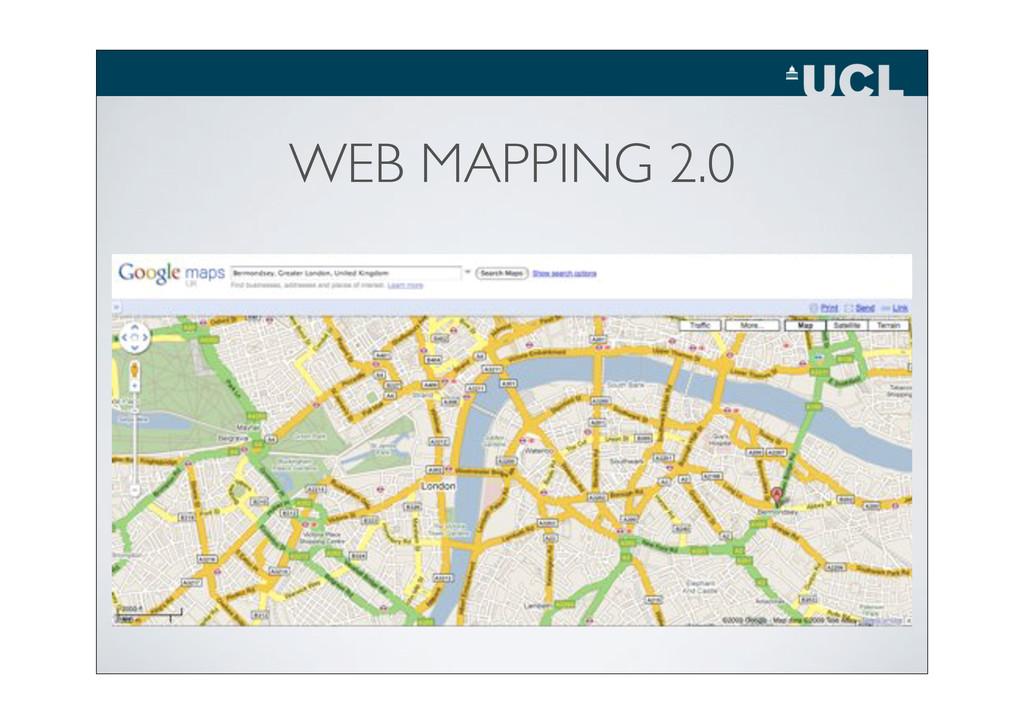 WEB MAPPING 2.0