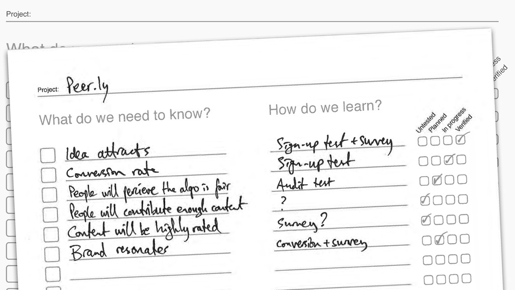 What do we need to know? How do we learn? U nte...