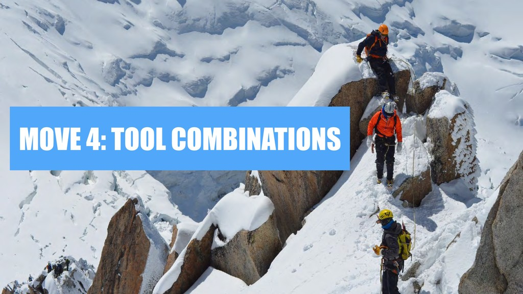 MOVE 4: TOOL COMBINATIONS Referens