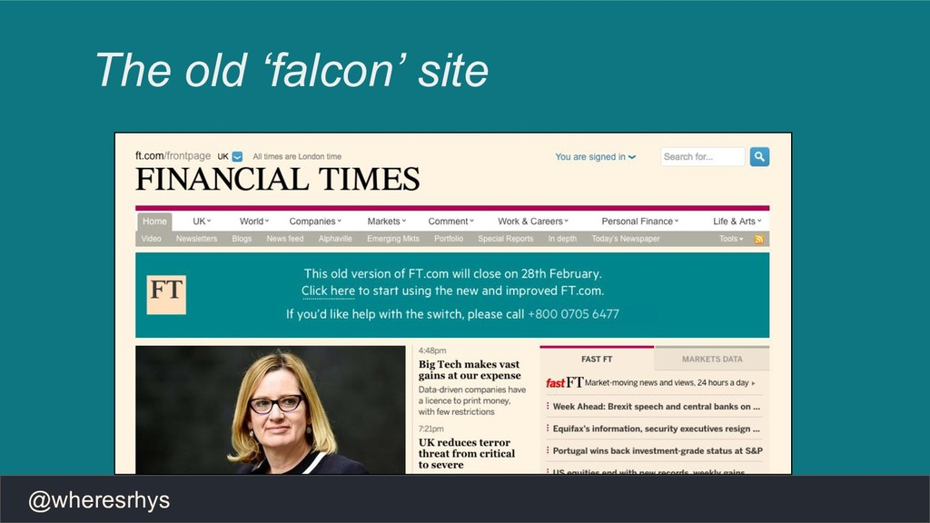 @wheresrhys The old 'falcon' site
