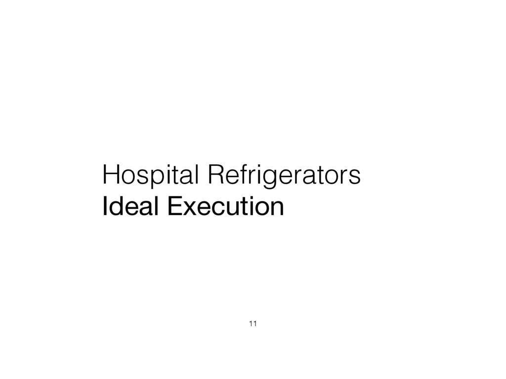 Hospital Refrigerators Ideal Execution 11