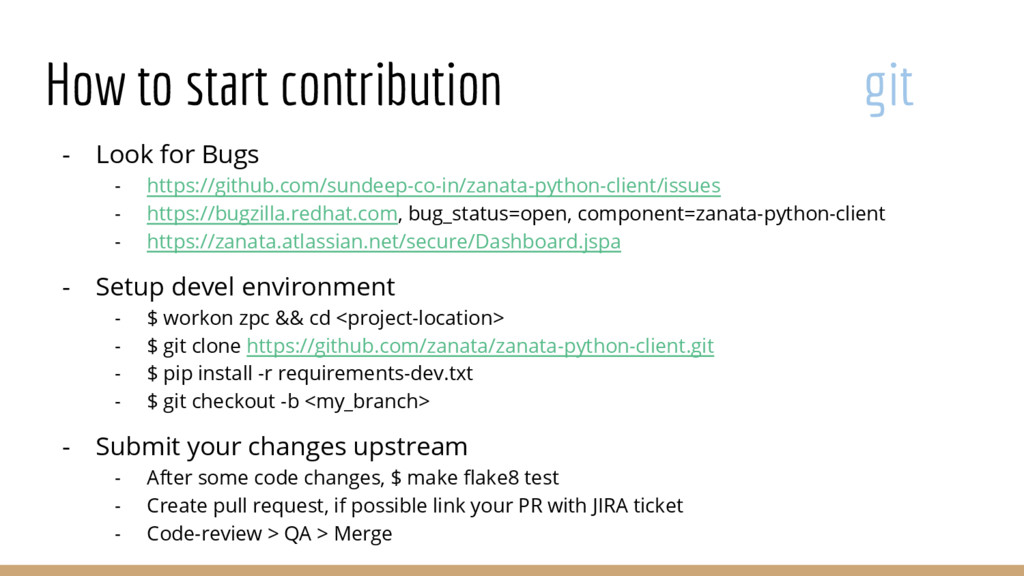How to start contribution git - Look for Bugs -...