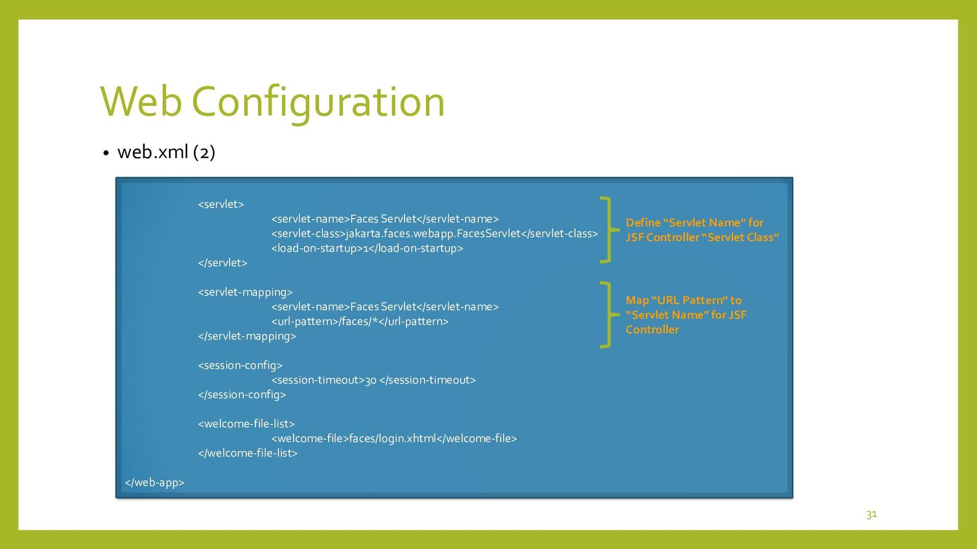JSF Facelets • Sample JSF Facelets Basics <?xml...
