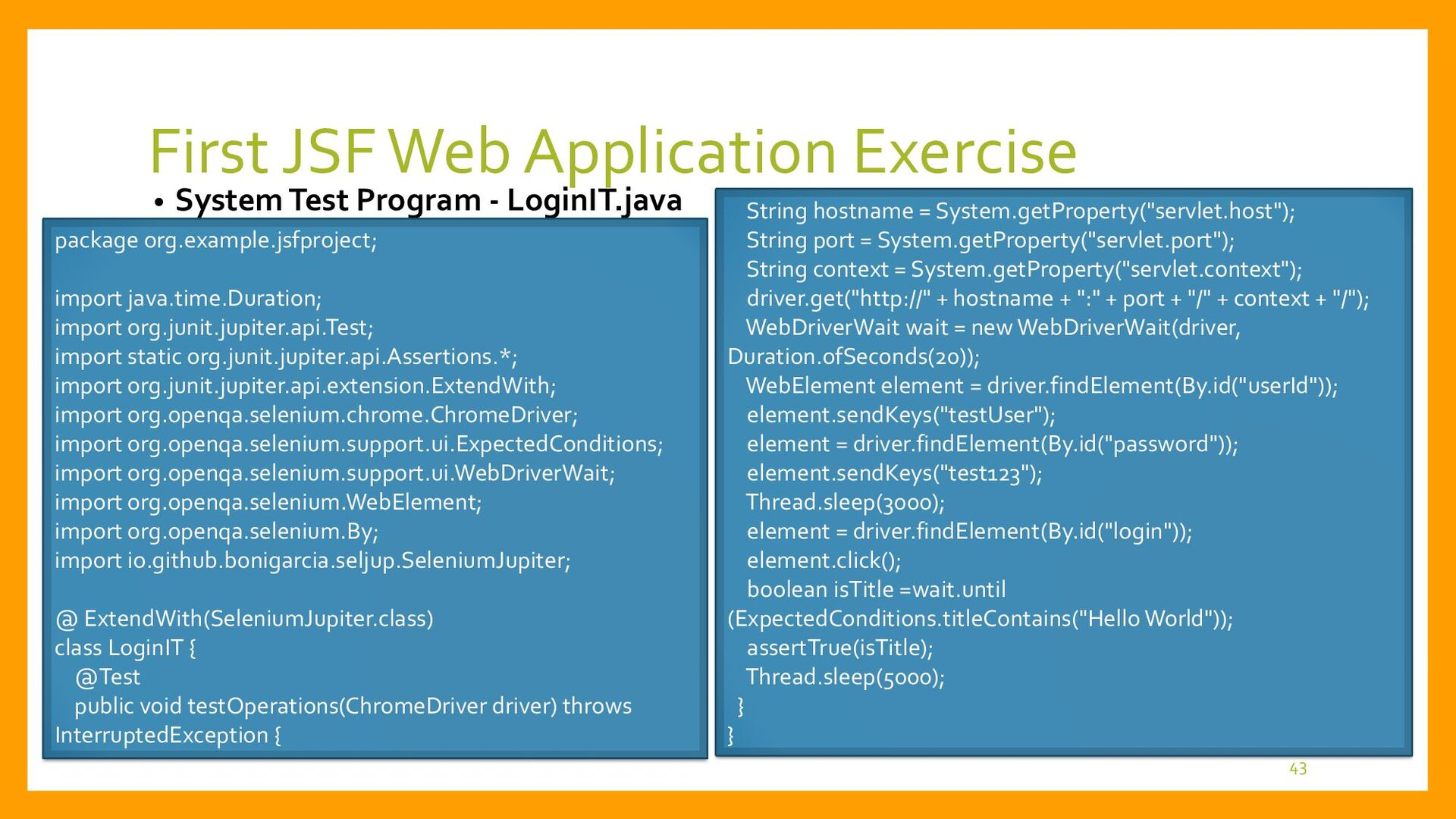 CDI Scope Types • Scope Types of CDI Components...
