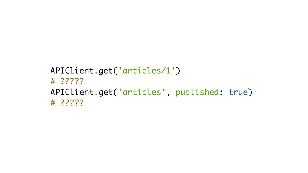 APIClient.get('articles/1') # ????? APIClient.g...